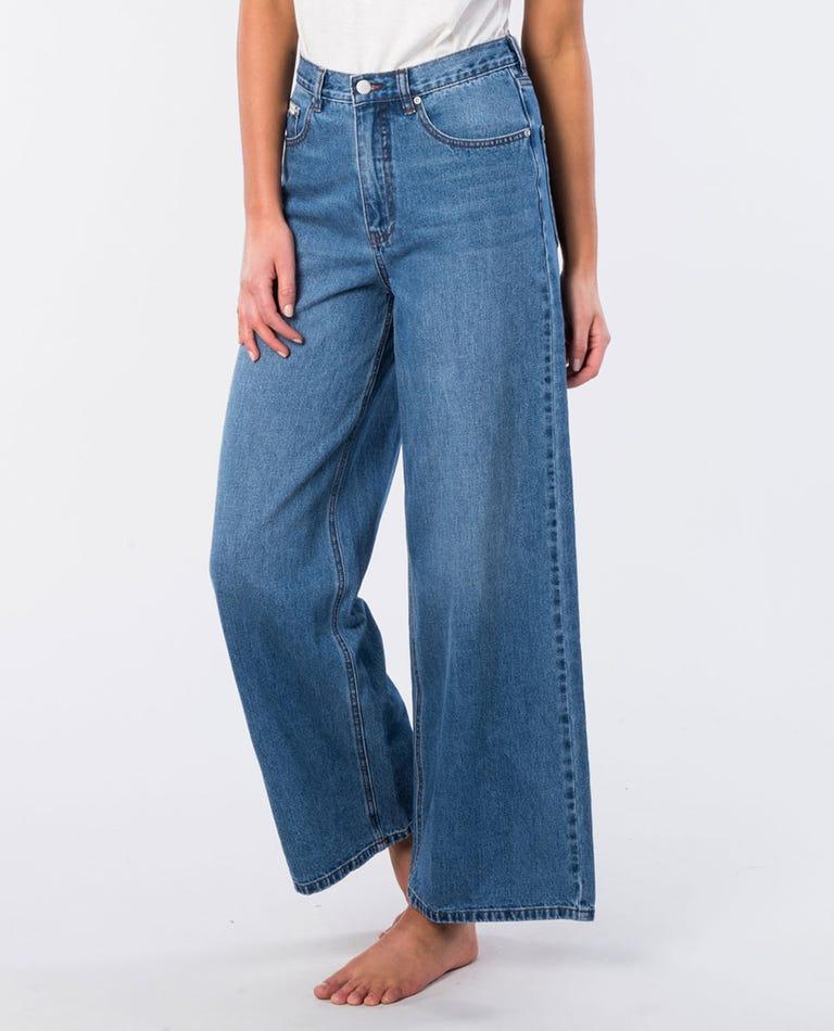 Rincon Wide Leg Jean in Blue