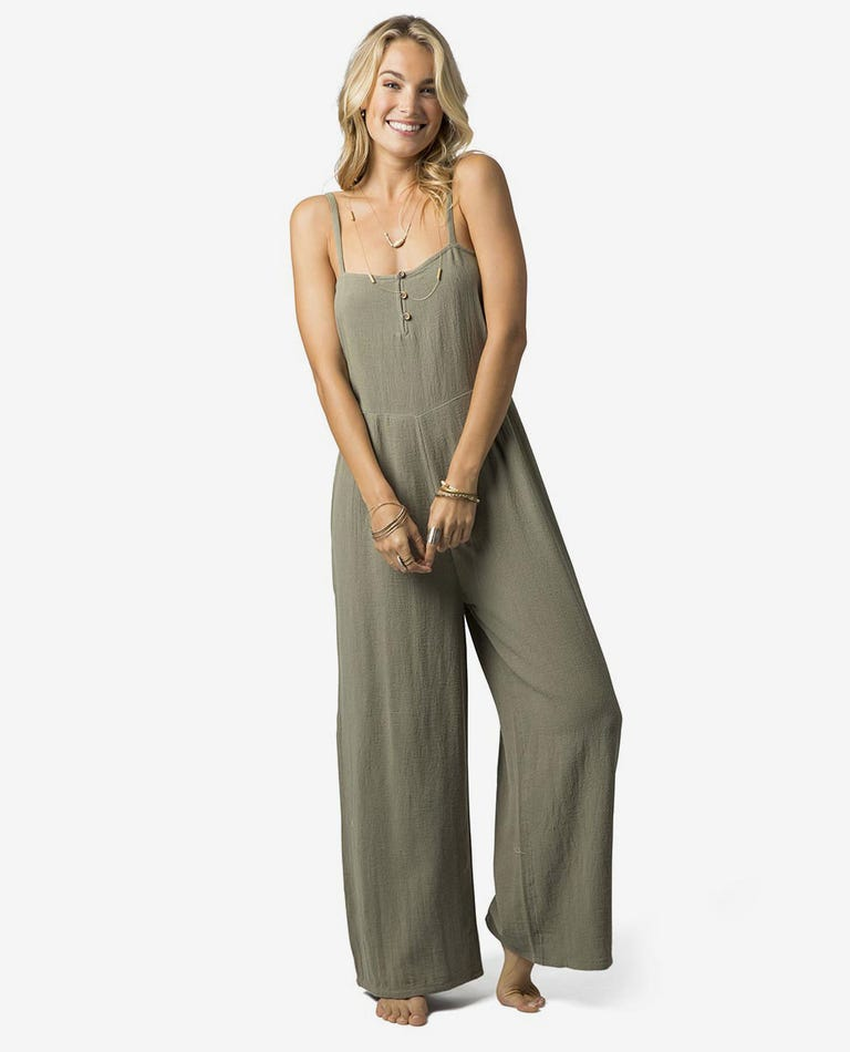 Noa Jumpsuit in Vetiver