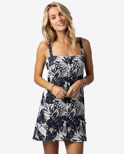 The Shape Shifter Dress in Navy
