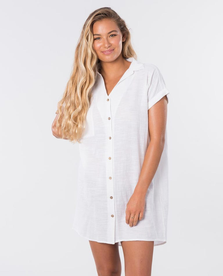 The Adrift Dress in White