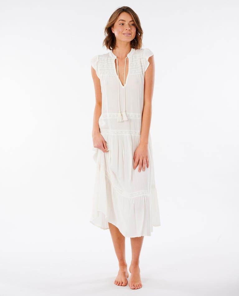 Layla Maxi Dress in White