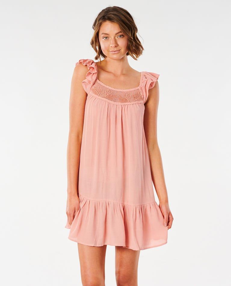 Ava Dress in Clay