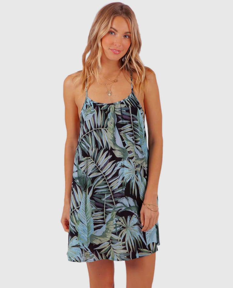 Palm Sky Cover Up in Black
