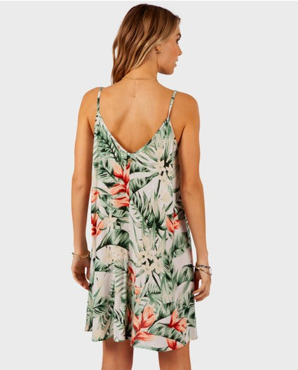 Tropic Heat Cover Up in Green