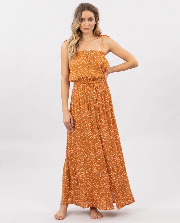 Safari Sun Maxi Dress in Honey