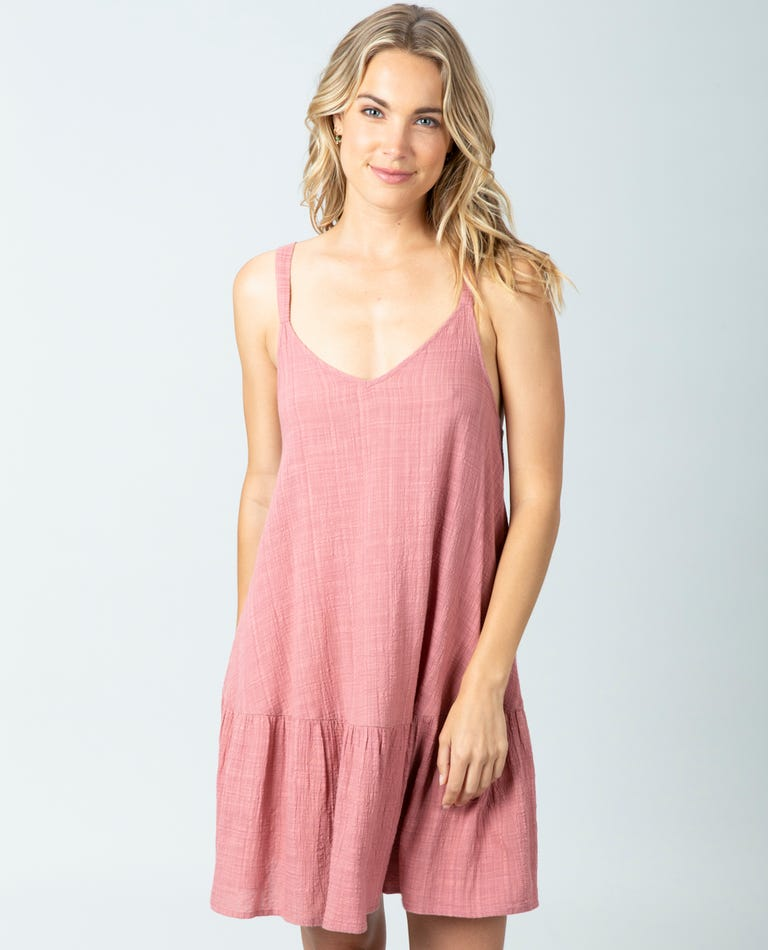 Classic Surf Cover Up in Rose