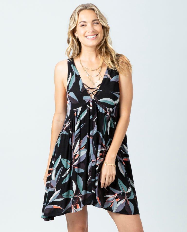Palm Bay Dress in Black