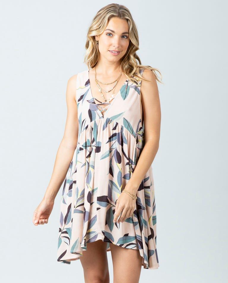 Palm Bay Dress in Blush