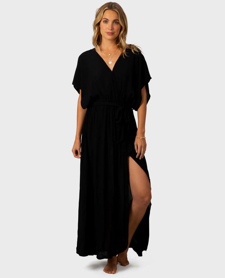 Hideaway Maxi Dress in Black