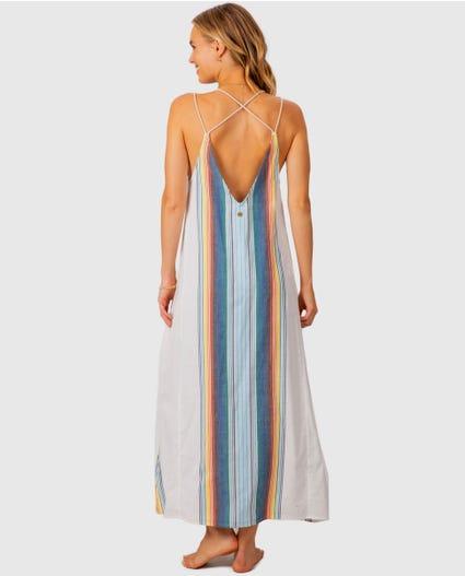 Beach Bazaar Maxi Dress in Vanilla