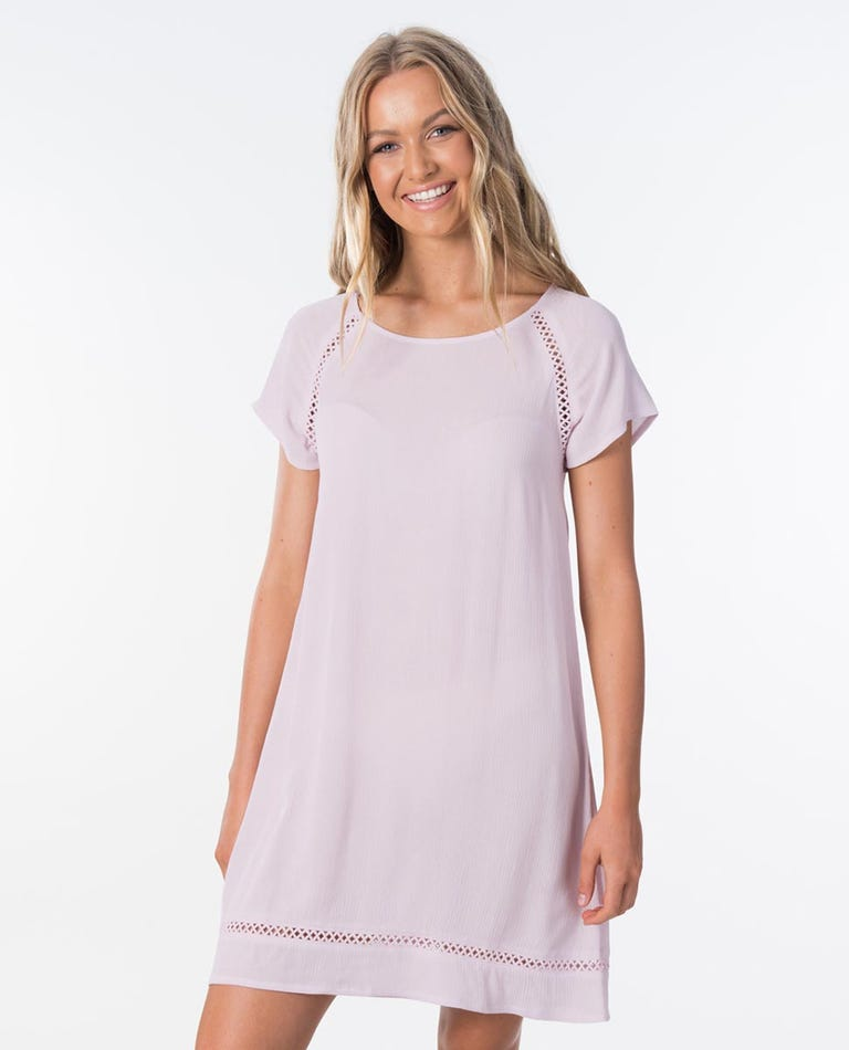 Rita Shift Dress in Light Purple