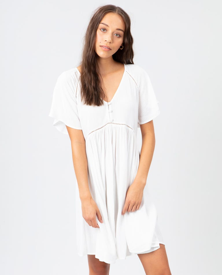 In Your Dreams Dress in White