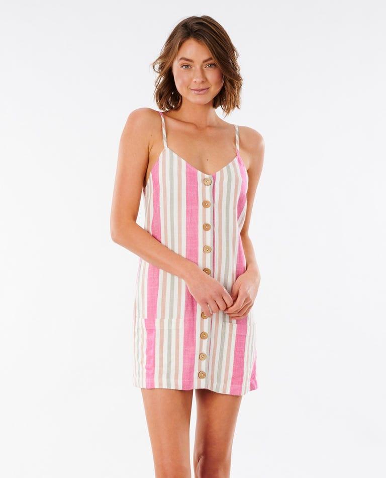 Ashore Mini Dress in Multico