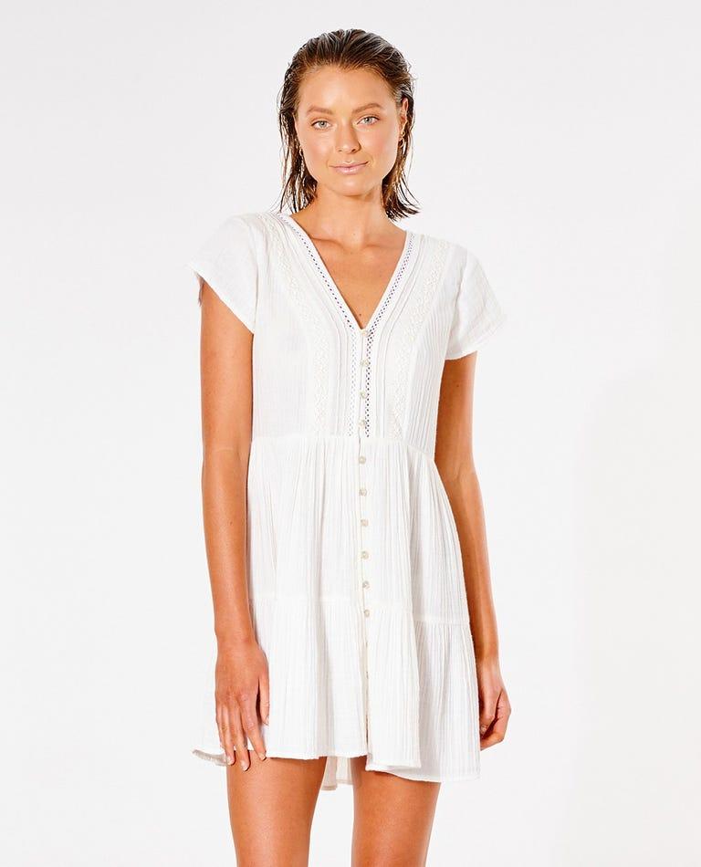 Summer Breeze Dress in Bone