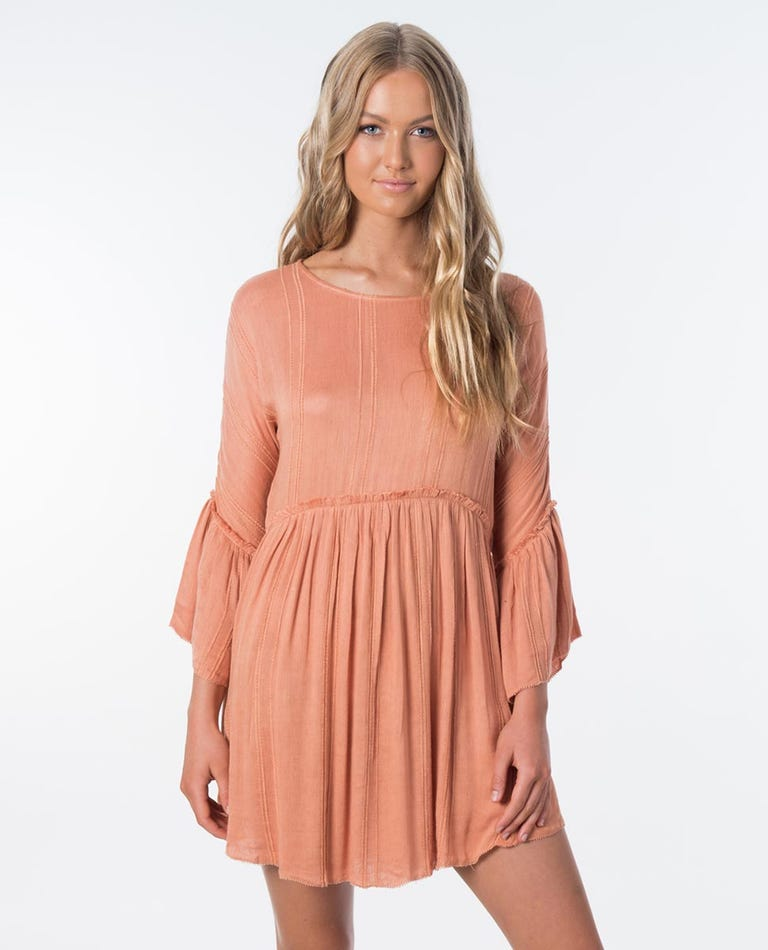 Sunrise Dress in Peach