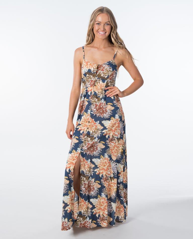 Sunsetters Maxi Dress in Dark Blue