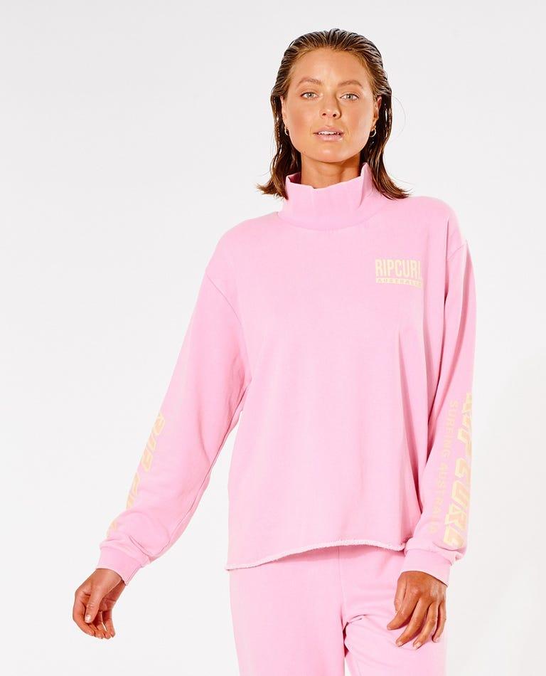 Vintage Revival Crew in Pink