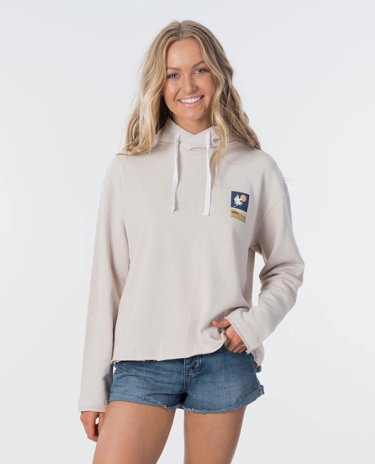 Sunsetters Hoodie in Stone