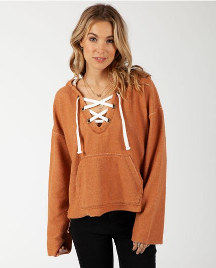 Salty Sun Hoody in Ginger