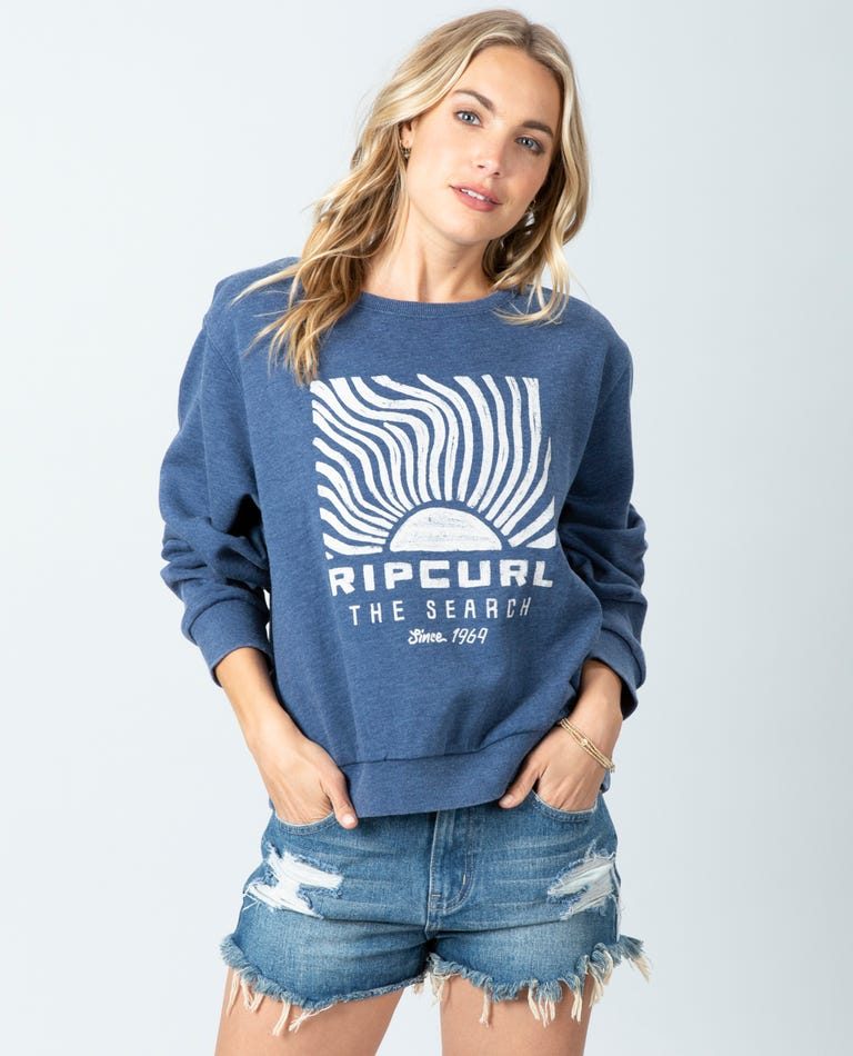 Sun Search Crew in Dark Blue