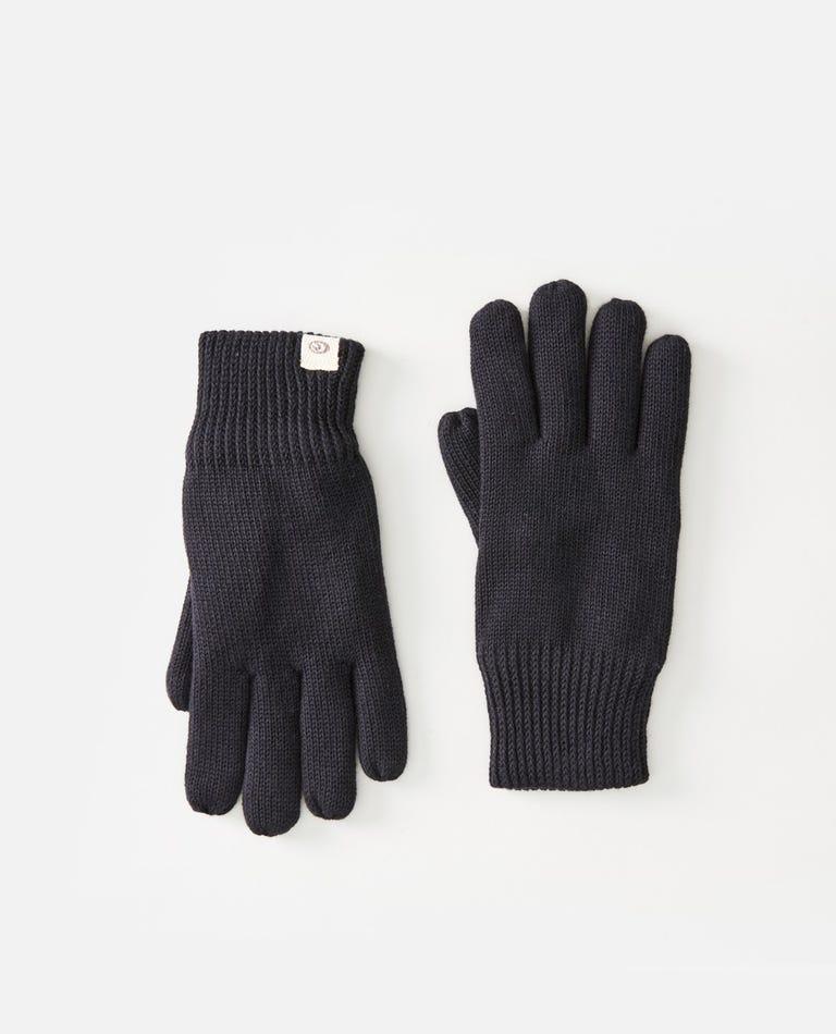 Coco Cotton Gloves in Black