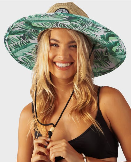 Palm Reader Sun Hat in Natural