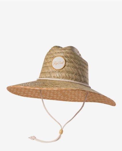 Coastal Tides Straw Hat in Natural
