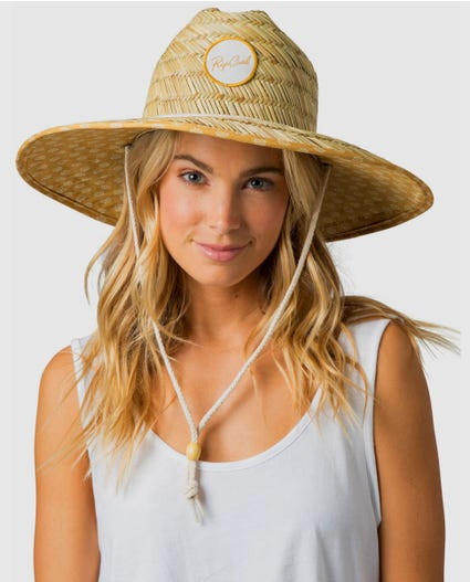 Coastal Tides Straw Hat in Natural