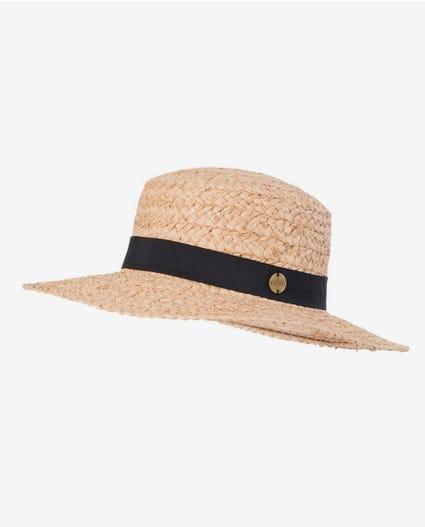 Saffron Skies Straw Hat in Natural