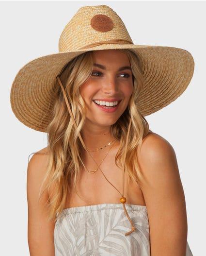 Nalu Straw Sun Hat in Natural