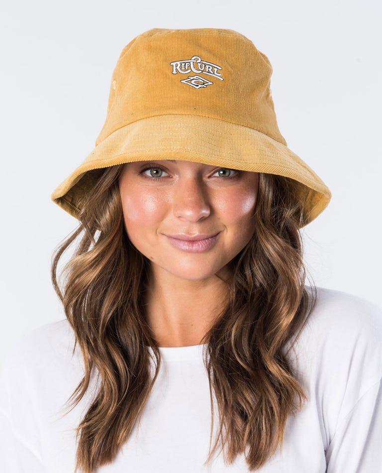 Core Heritage Bucket Hat in Mustard