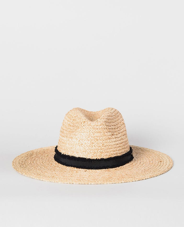Sunsetters Straw Panama Hat in Natural