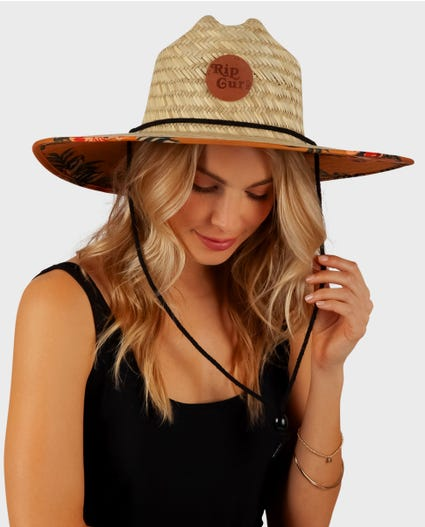 Sunchasers Straw Sun Hat in Mustard