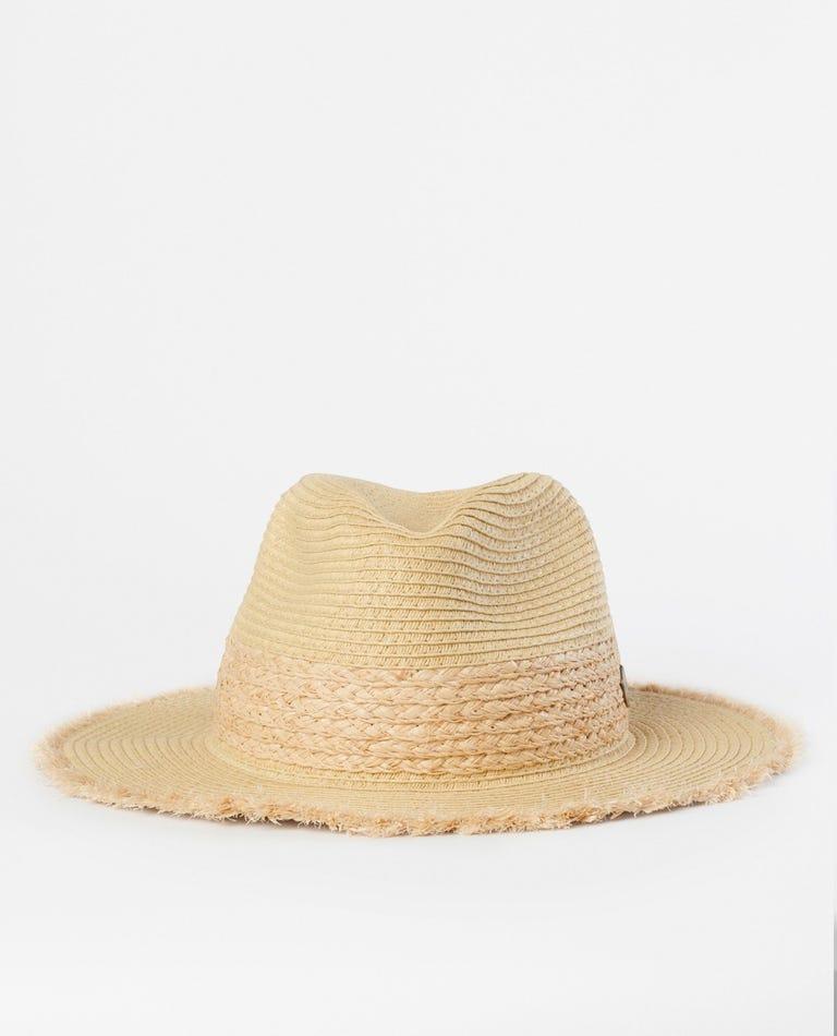 Marigold Panama Hat in Natural