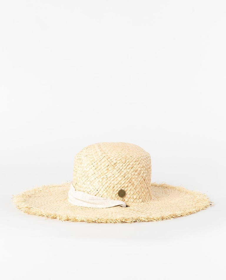 Paradise Straw Boho Hat in Natural