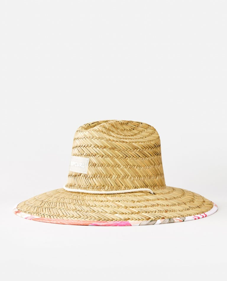 North Shore Straw Sun Hat in Natural