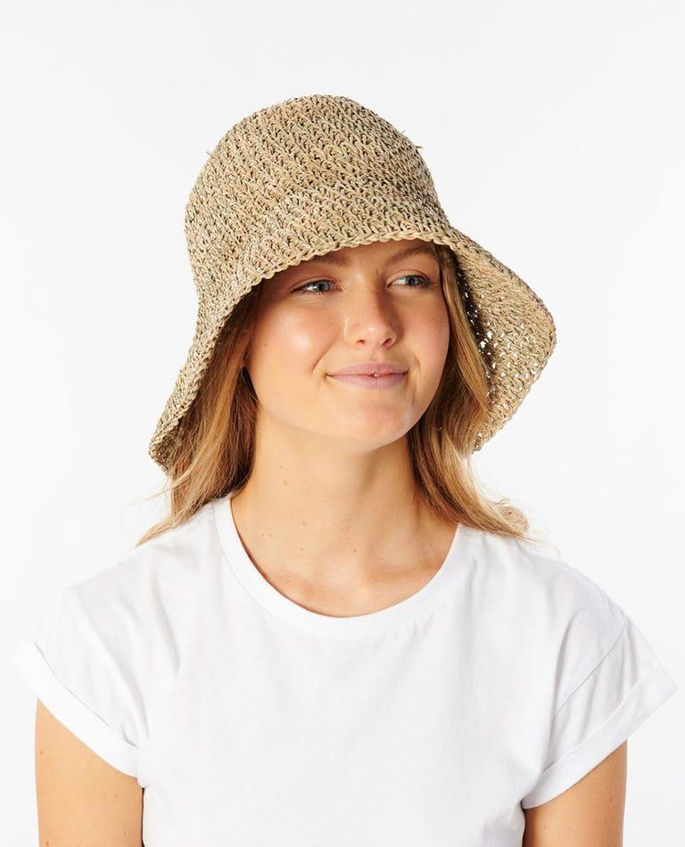 Crochet Bucket Hat in Natural