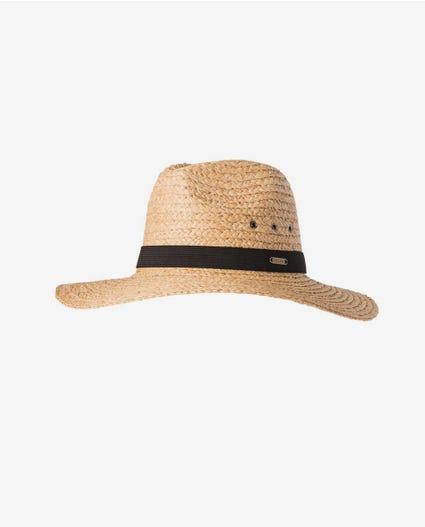 Essentials Straw Panama in Natural