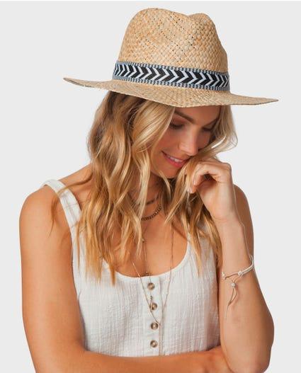 Coast To Coast Panama Hat in Natural