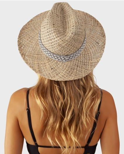 Kauai Straw Panama Hat in Natural