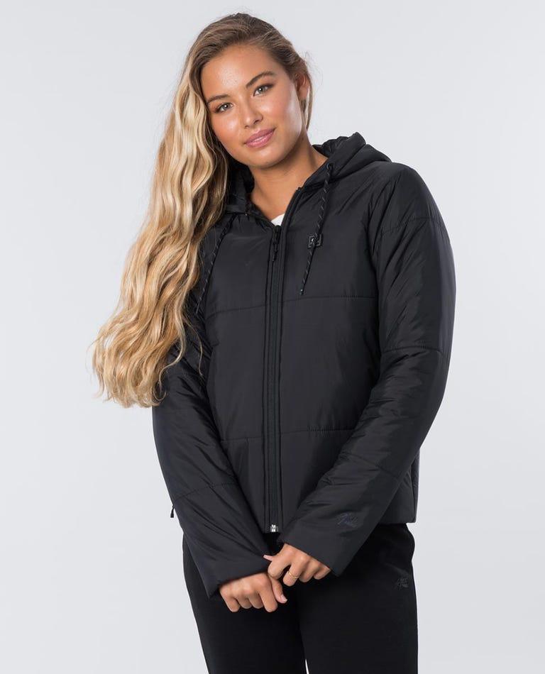 Anti-Series Triple Up Jacket in Black