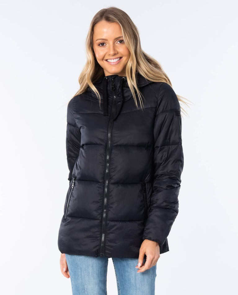 Coastal Tide Anti-Series Down Jacket in Black