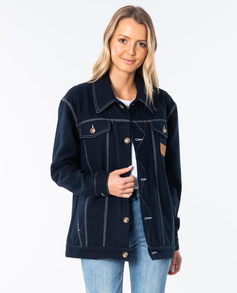 Benson Jacket in Navy