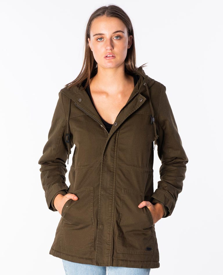 Journey Jacket in Olive