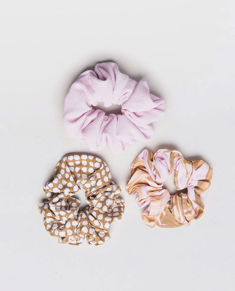 Paradise Scrunchies (3 Pack) in Multico