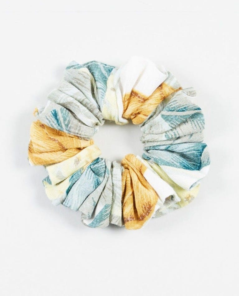 Tropic Sol Scrunchie in White