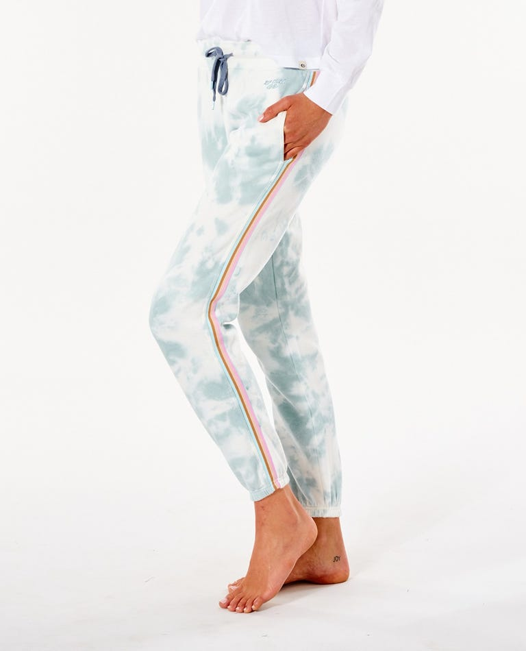 Twin Fin Trackpant in Light Blue