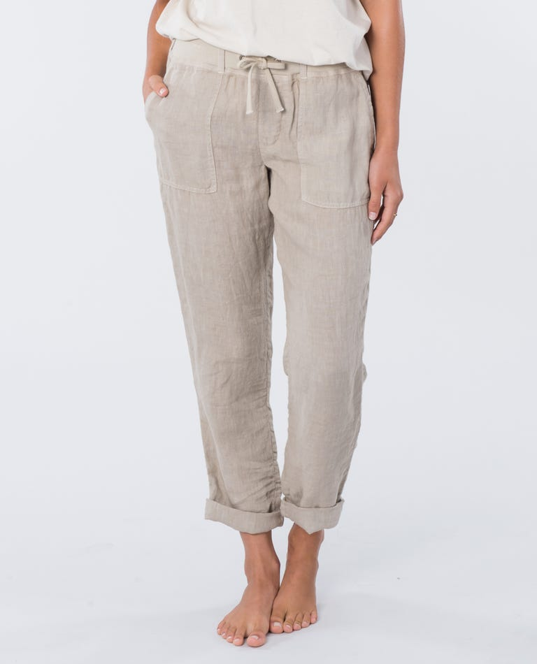 The Off Duty Pant in Stone Blue