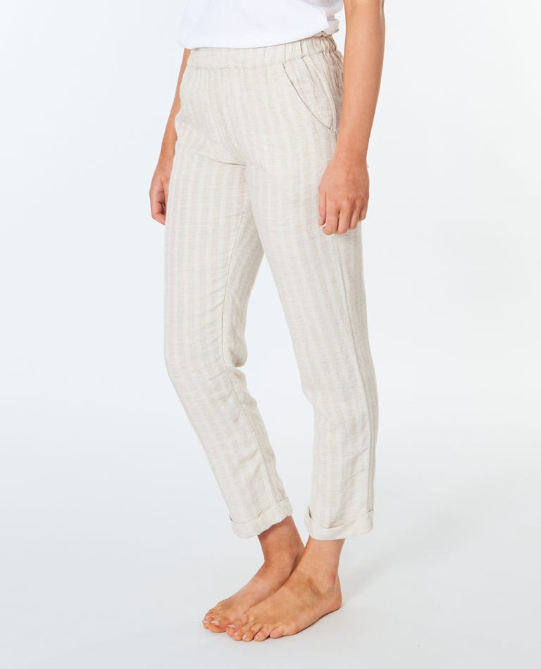 Surf Shack Solid Pant in Natural