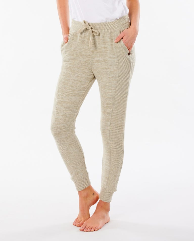 Cosy II Trackpant in Green Marle